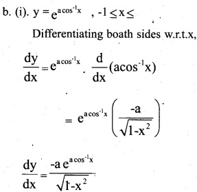 Plus Two Maths Chapter Wise Previous Questions Chapter 5 Continuity and Differentiability 1