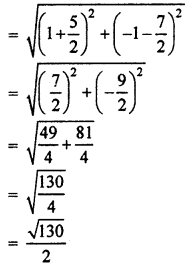 RBSE Solutions for Class 10 Maths Chapter 9 Co-ordinate Geometry Q.19.4