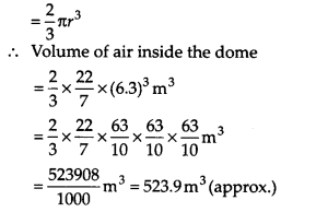 NCERT Solutions for Class 9 Maths Chapter 13 Surface Areas and Volumes Ex 13.8 Q8a