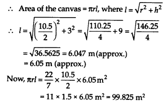 NCERT Solutions for Class 9 Maths Chapter 13 Surface Areas and Volumes Ex 13.7 Q9a
