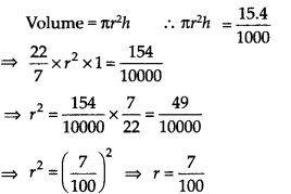 NCERT Solutions for Class 9 Maths Chapter 13 Surface Areas and Volumes Ex 13.6 Q6a