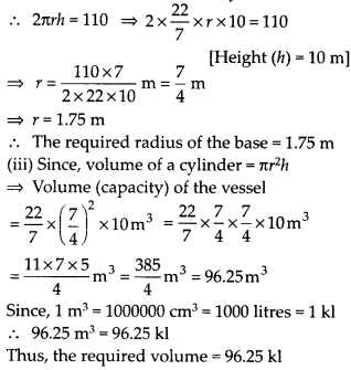 NCERT Solutions for Class 9 Maths Chapter 13 Surface Areas and Volumes Ex 13.6 Q5a