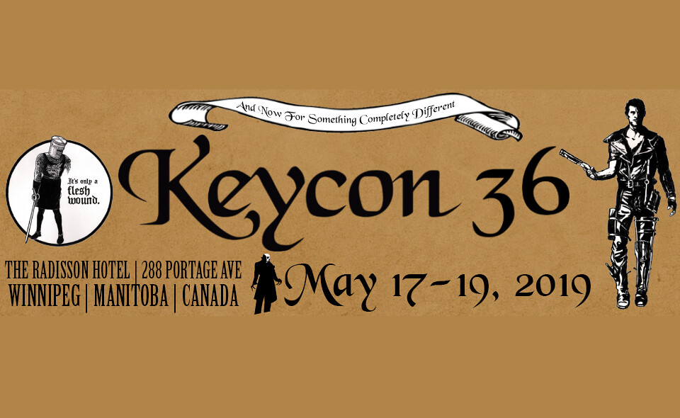 Keycon 36 Takes Place May 17 - 19, 2019