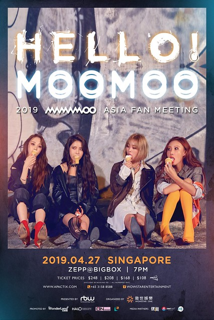 2019 MAMAMOO [HELLO! MOOMOO] Asia Fan Meeting in Singapore