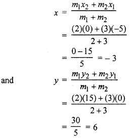 RBSE Solutions for Class 10 Maths Chapter 9 Co-ordinate Geometry 4Q.1.2