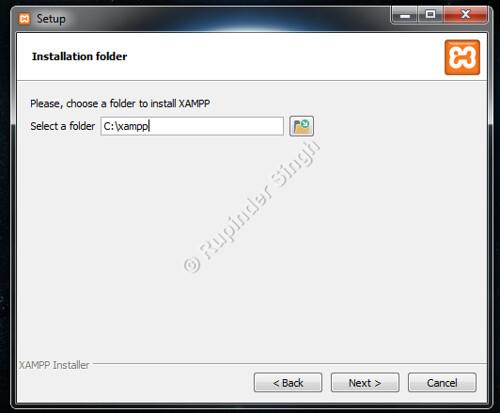 4 Xampp Install