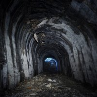 Abandoned South Island tunnel
