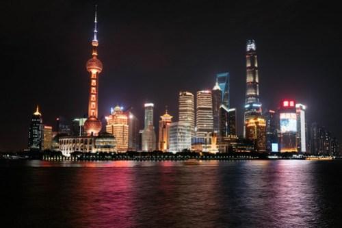 The Bund(外灘)at night, Shanghai