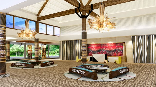 Pullman Nadi Bay Resort & Spa - Lobby Reception
