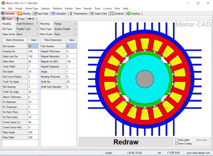 Working with Motor-CAD V12 version 12.1.7.1 x64 full