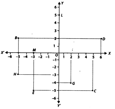 NCERT Solutions for Class 9 Maths Chapter Chapter 3 Coordinate Geometry Ex 3.2 Q2