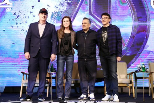 Marvel Studios' 'Avengers: Endgame' South Korea Premiere - Filmmakers Press Conference In Seoul
