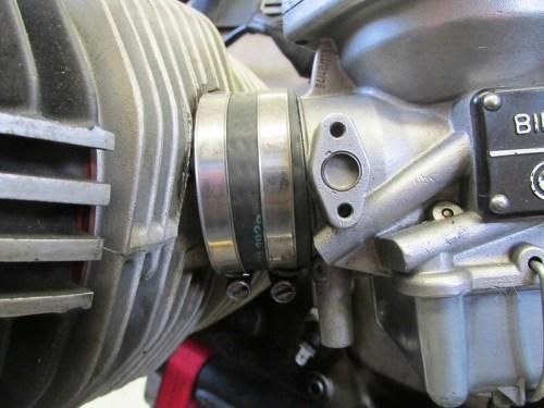 Cylinder Intake Spigot Rubber Bushing