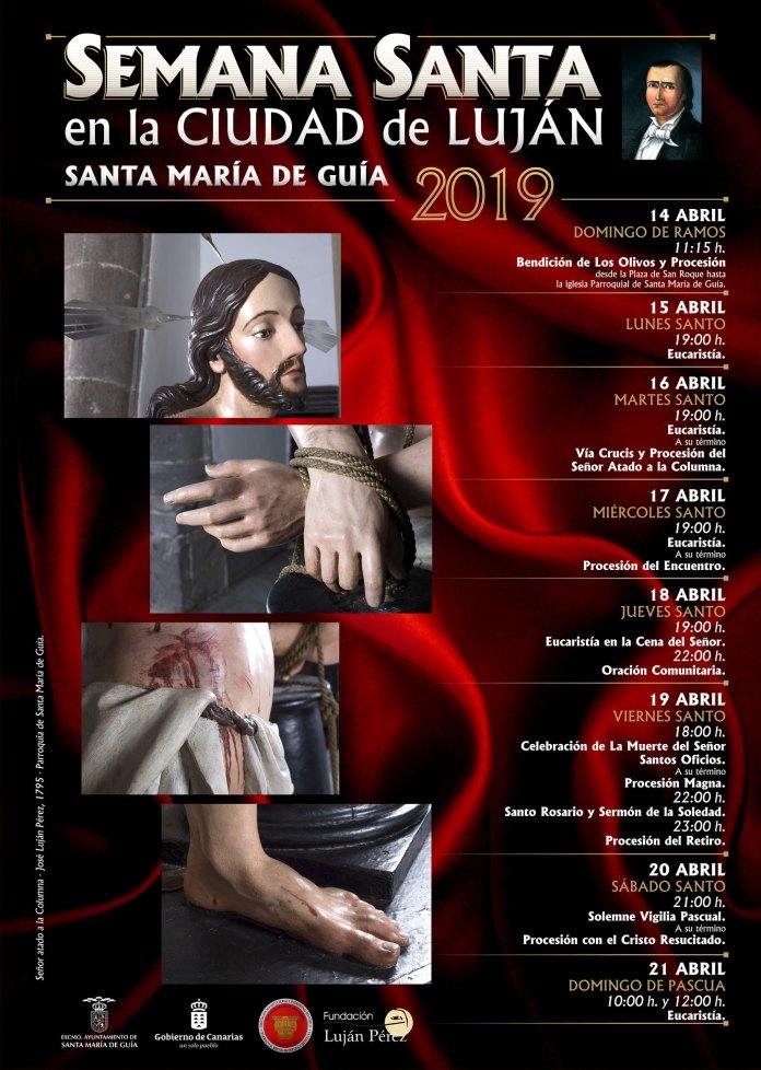 La Semana Santa en la Ciudad de Luján Pérez lucirá en todo su esplendor con la salida de diez Pasos en la Procesión Magna del Viernes Santo