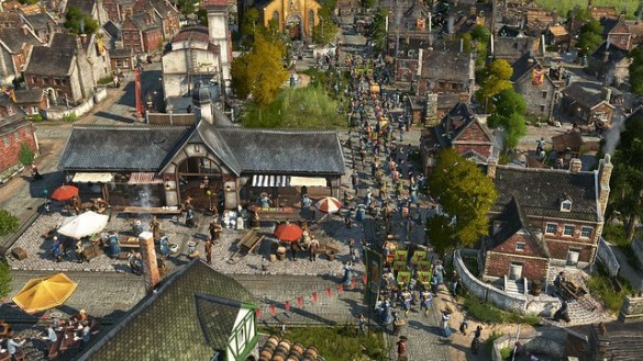 Anno 1800 - Bustling Throng