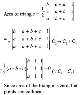 Plus Two Maths Chapter Wise Previous Questions Chapter 4 Determinants 19