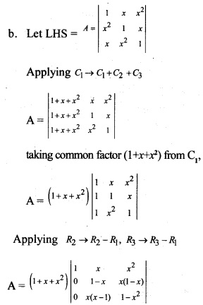 Plus Two Maths Chapter Wise Previous Questions Chapter 4 Determinants 16