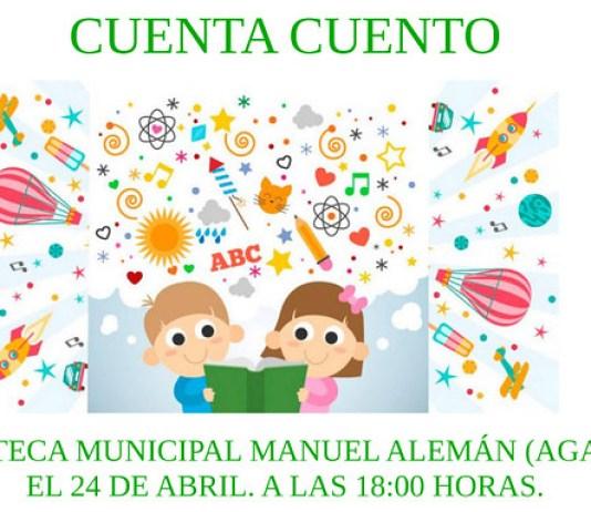 El Ayuntamiento de Agaete invita a descubrir el Cuentacuentos con Begoña Perera