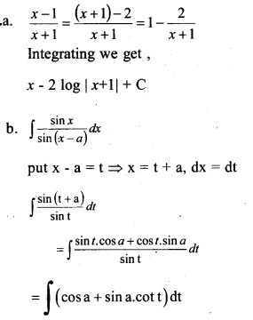 Plus Two Maths Chapter Wise Previous Questions Chapter 7 Integrals 22