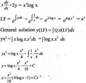 Plus Two Maths Chapter Wise Previous Questions Chapter 9 Differential Equations