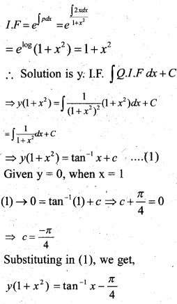 Plus Two Maths Chapter Wise Previous Questions Chapter 9 Differential Equations 5