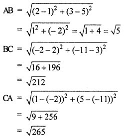 RBSE Solutions for Class 10 Maths Chapter 9 Co-ordinate Geometry 2Q.2