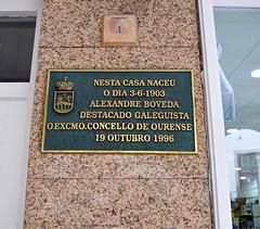 1 Casa natal en Ourense.