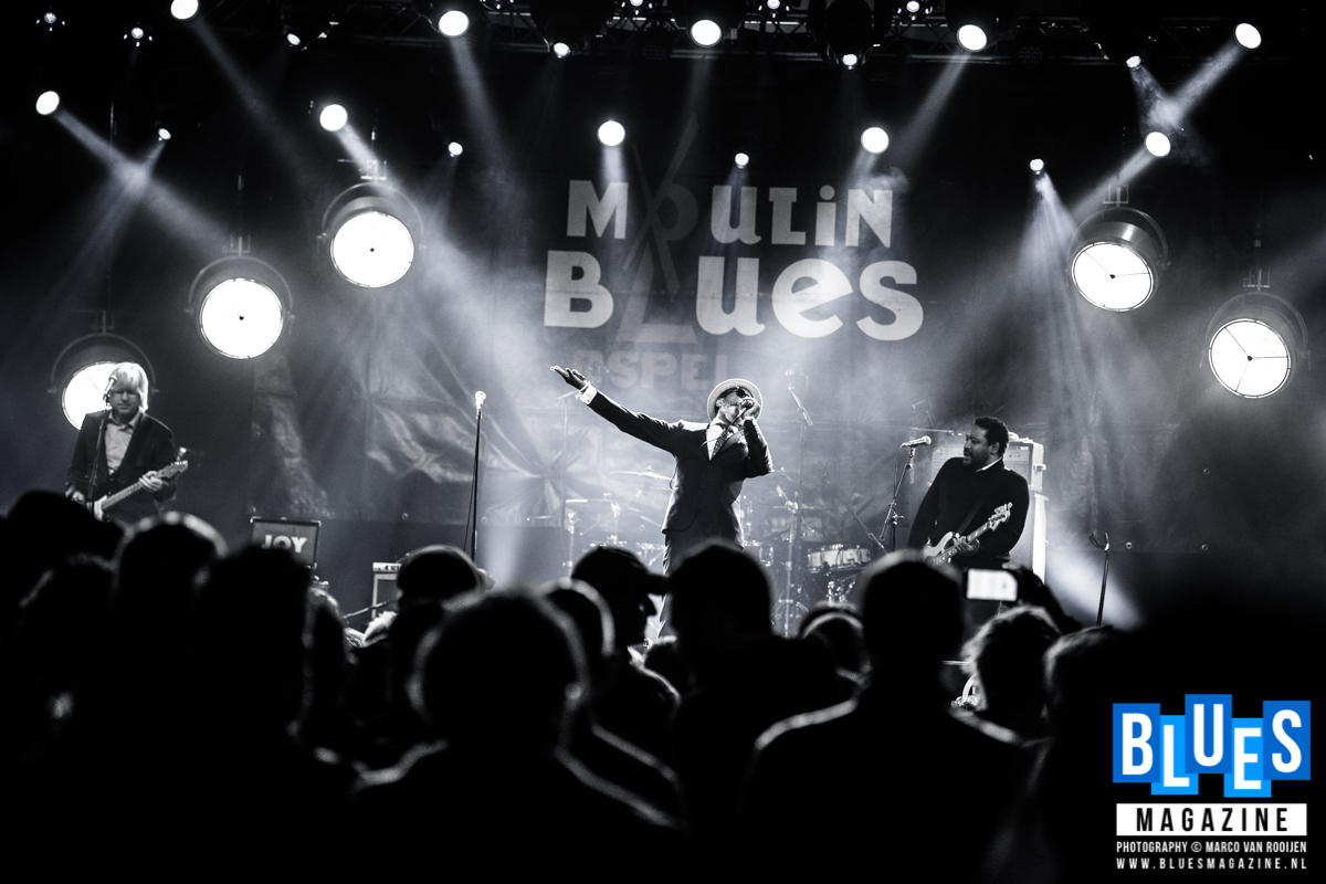 The Reverend Shawn Amos @ Moulin Blues 2019
