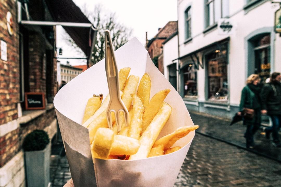 Patatine fritte, Bruges