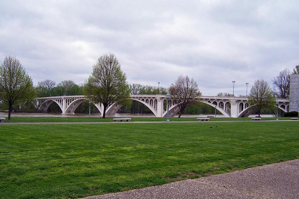 Wabash River bridge, Vincennes