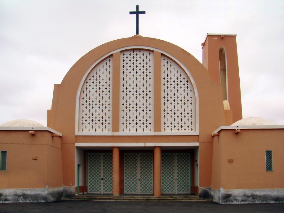El Aaiun Iglesia San Francisco de Asis Desierto del Sahara 01