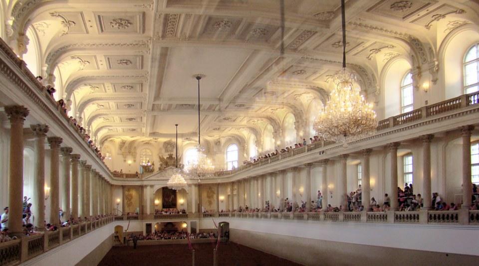 Escuela de Equitación Española Viena Austria Patrimonio de la Humanidad Unesco 01
