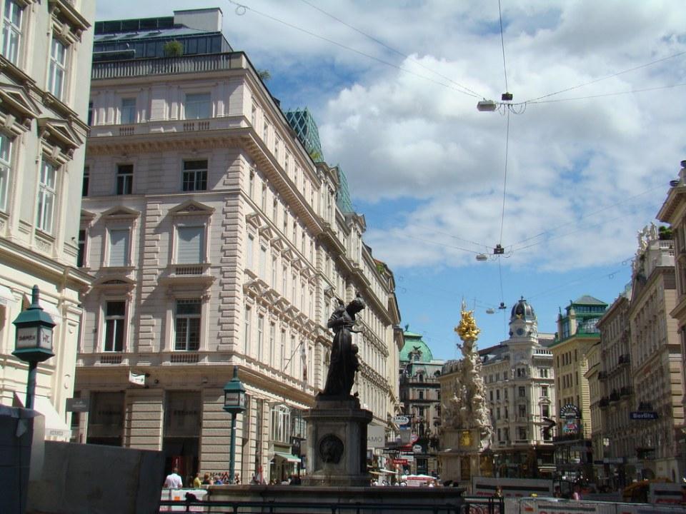 Columna de la Peste Pestsäule Viena Austria Patrimonio de la Humanidad Unesco 01