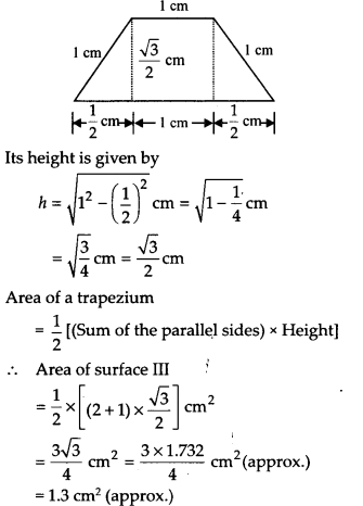NCERT Solutions for Class 9 Maths Chapter 12 Heron's Formula Ex 12.2 A3b