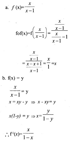 Plus Two Maths Chapter Wise Previous Questions Chapter 1 Relations and Functions