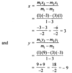 RBSE Solutions for Class 10 Maths Chapter 9 Co-ordinate Geometry Q.3.3