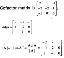Plus Two Maths Chapter Wise Previous Questions Chapter 4 Determinants 11