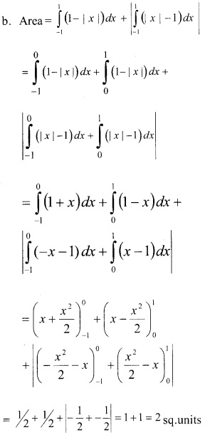 Plus Two Maths Chapter Wise Previous Questions Chapter 8 Application of Integrals 9