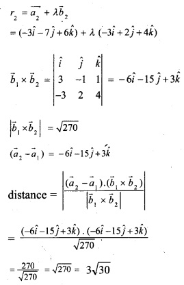 Plus Two Maths Chapter Wise Previous Questions Chapter 11 Three Dimensional Geometry 14