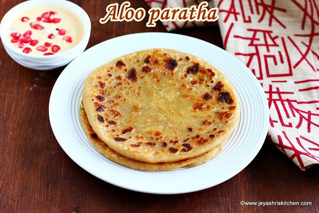 Dhaba style aloo paratha