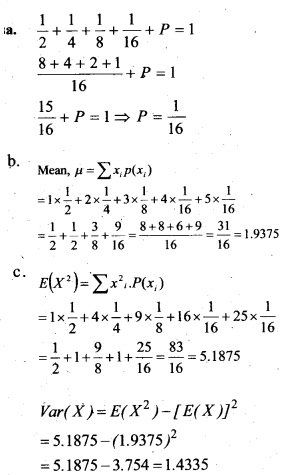Plus Two Maths Chapter Wise Previous Questions Chapter 13 Probability 10