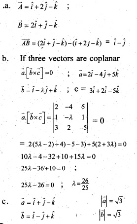 Plus Two Maths Chapter Wise Previous Questions Chapter 10 Vector Algebra 9