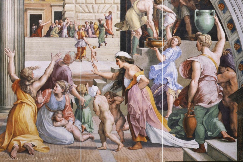 Salas de Rafael nos Museus Vaticanos