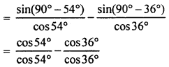 RBSE Solutions for Class 10 Maths Chapter 7 Trigonometric Identities Q.2