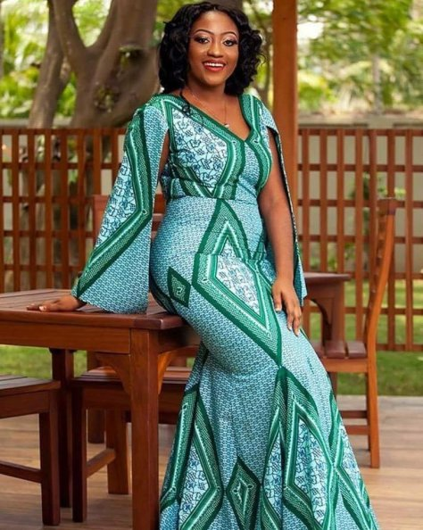 Modern Ankara Fashion Dresses Pictures 2019