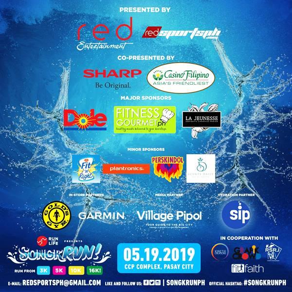 SongkRUN Red Entertainment Sponsors