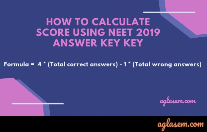 NEET 2019 Answer Key Code P, Q, R, S (Available!) – Paper, Solutions Download Here