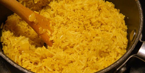 Receta de Arroz al Curry