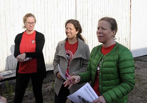 Annika Widén, Lena Riedel och Maria Rothman
