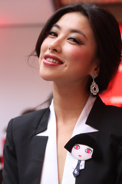 Modelo japonesa para Dark Lady